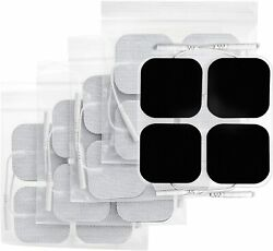 40 Replacement Tens Electrode Pads Ems For Units 7000 3000 2x2 Muscle Stimulator