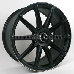 Mercedes S-class Genuine Amg Forged Black Rear Wheel C217 W222 2013 And Up New