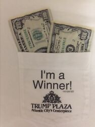 Vintage Trump Plaza Casino T-shirt— Collectble Trump Plaza Tshirt. One Of A Kind