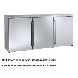 Perlick Dbp72 72 Pass-thru 3-section Non Refrigerated Dry Storage Cabinet