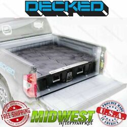 Decked Truck Bed Storage System Fits 2007-18 Chevy Silverado Gmc Sierra 6and0396 Bed