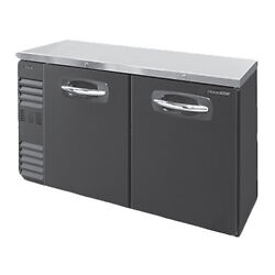 Nor-lake Nlbb48n 48 Two Section Refrigerated Back Bar Storage Cabinet