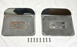 Early Chevy Car Pickup Truck Street Rod Side Step Plates 20and039s 30and039s Chevrolet