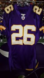 Antoine Winfield 26 Minnesota Vikings Autograhed Game Used 2004 Jersey Size 46