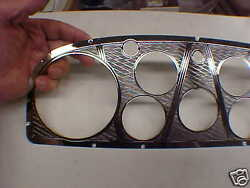 Cadillac V-16 Dash And Glove Box Instrument Panel Set Of Two 1933 - 1937