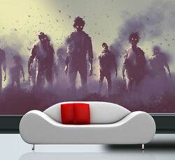 3d The Film Poster Zombie Wall Paper Print Decal Wall Deco Indoor Wall Mural