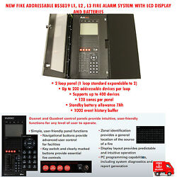 Fike Addressable Bs5839 L1l2l3 Fire Alarm System With Lcd Display And Batteries