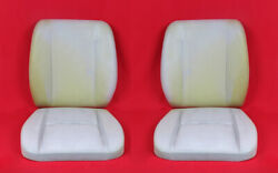For Porsche 911 912 Uncovered Upper Lower Seat Cushion Set 4 Pcs New