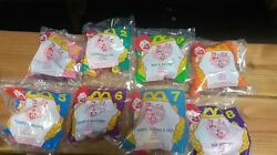 1994 Mcdonalds Animaniacs Toys Complete Set Of 8 New In Bag Sealed