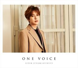 New Super Junior-kyuhyun One Voice First Limited Edition Cd Live Dvd Card Japan