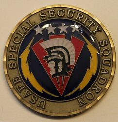 Usafe Special Security Sq Best Small Security Forces 02 Air Force Challenge Coin