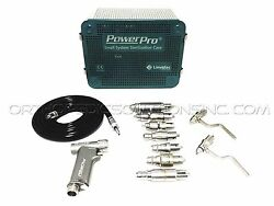 ConmedLinvatecHall Power Pro Set With PRO6150 Pnuematic Handpiece *Warranty*