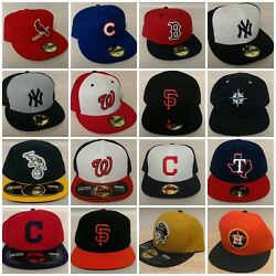 New Era Mlb 59fifty 2016 Game Hats - Multiple Teams And Sizes-more Teams Inside