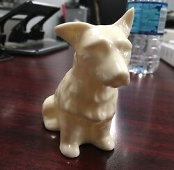 Belleek West Highland Terrier. Porcelain Dog. Sixth Mark 1965-1980. #0857.