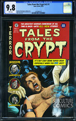 Tales From The Crypt 1 - First Print - Cgc 9.8 - Sold Out - Super Genius - Hot
