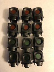 Lionel 711-54 Lens Lanterns For 022 Switches For Post War One Dozen 12 Total