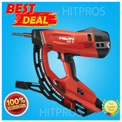 Hilti Gx 3 Gas Actuated Fastening Tool Brand New Free Hilti Hat Fast Shipping