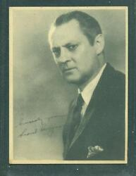 1926 E243 Brody Motion Picture Stars Lionel Barrymore Similar To W618 Ex/nm-