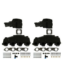 Sierra V-8 Mercruiser Exhaust Manifold Kit Chevy 7.4l And 8.2l W/ 4 Magnum Risers