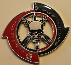 7th Special Forces Airborne 3rd Bn Ser226a Commander Army Challenge Coin