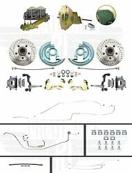 1964-1967 Chevelle Hardtop High Performance D/s Disc Brake Conversion And Line Kit