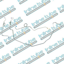 1968-72 A-body Chevelle Power Front Brake Lines Tubes Set Disc Conversion Ss
