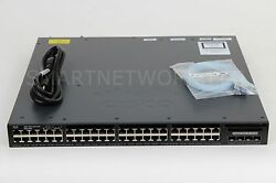 Used Cisco Ws-c3650-48tq-s Catalyst 3650 Series Switch Fast Shipping