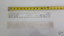 Nos Southern Photo Print And Supply Co 2546 Drafting Machine Scale Ruler 12