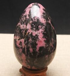 1055g Natural Red Ruby Corundum Gemstone Quartz Crystal Ball Egg Healing