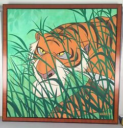 Alex Maher Painting - Shere Khan - Jungle Book - Gouache on Panel - Disney 1997