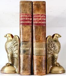 1791 Enfieldand039s History Of Philosophy First Edition With Large Fold Out Table