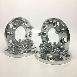 4pc 5/8 Wheel Spacers 5x4.75 5x120.7   7/16 Studs   For Older Chevy Buick 15mm