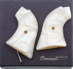 Fits Heritage Arms Rough Rider Grips .22 And .22 Mag Models Mother Of Pearl Mop