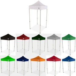 5x5 Ez Pop Up Canopy Tent Sun Shade Vendor Display Booth Shelter Market Canopy