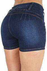 High Rise Colombian Design Levanta Cola Butt Lifting Sexy Shorts