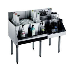 Krowne Metal Kr18-w54l-10 54 Underbar Ice Bin / Cocktail / Blender Station