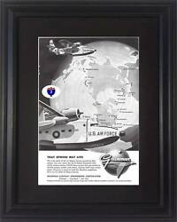 57 1957 Grumman Aircraft Vintage Ad - U.s. Air Force Usaf - That Others May Live