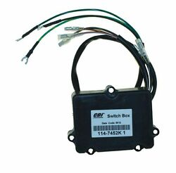 Mercury 6-35 Hp 2 Cylinder Switch Box With Bullet Connection - 114-7452k 1