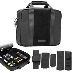 Nitecore Ntc10 Tactical Case Cordura Gear Storage Bag + Hook And Loop Patches X 5