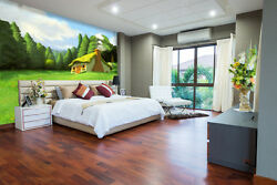 3d Turf House 3668 Wall Paper Wall Print Decal Wall Deco Indoor Wall Murals