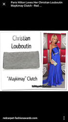 Christian Louboutin Maykimay Clutch 3 Available--listing Is For One Sold Out
