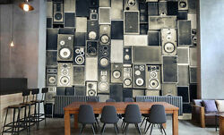 3d Old Sound Box 343 Wall Paper Wall Print Decal Wall Deco Indoor Wall Murals