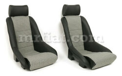 For Porsche Rr Seat Leather Houndstooth New