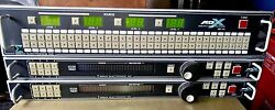 SIGMA APS-A&V ANALOG & DIGITAL AUDIO VIDEO SWITCHERS w MODULESCONTROLLERS