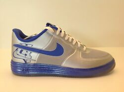 Nike Lunar Force 1 Fuse Cty Silver/blue Men's Size 10-12 New In Box 577666 001