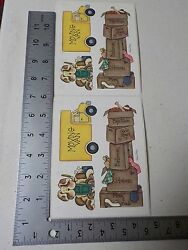 PROVO CRAFT WE#x27;RE MOVING BOXES MOVING VAN DOG STICKERS SCRAPBOOKING NEW A2749