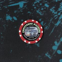Rare! - CMKX CMKXTREME MACHINE Limited Edition Poker Chip.