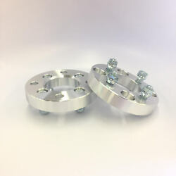 2pcs 1 Inch Wheel Adapters | 4x108 to 4x114.3 4x4.25 to 4x4.5 | 12X1.5 | 25mm