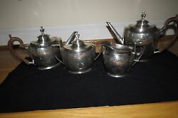 Schofield Co. Sterling Silver Coffee And Tea Service – 4 Pieces – Amazing
