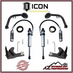 Icon S2 Secondary Shock System Stage 2 For 10-14 Toyota Fj Cruiser K53122